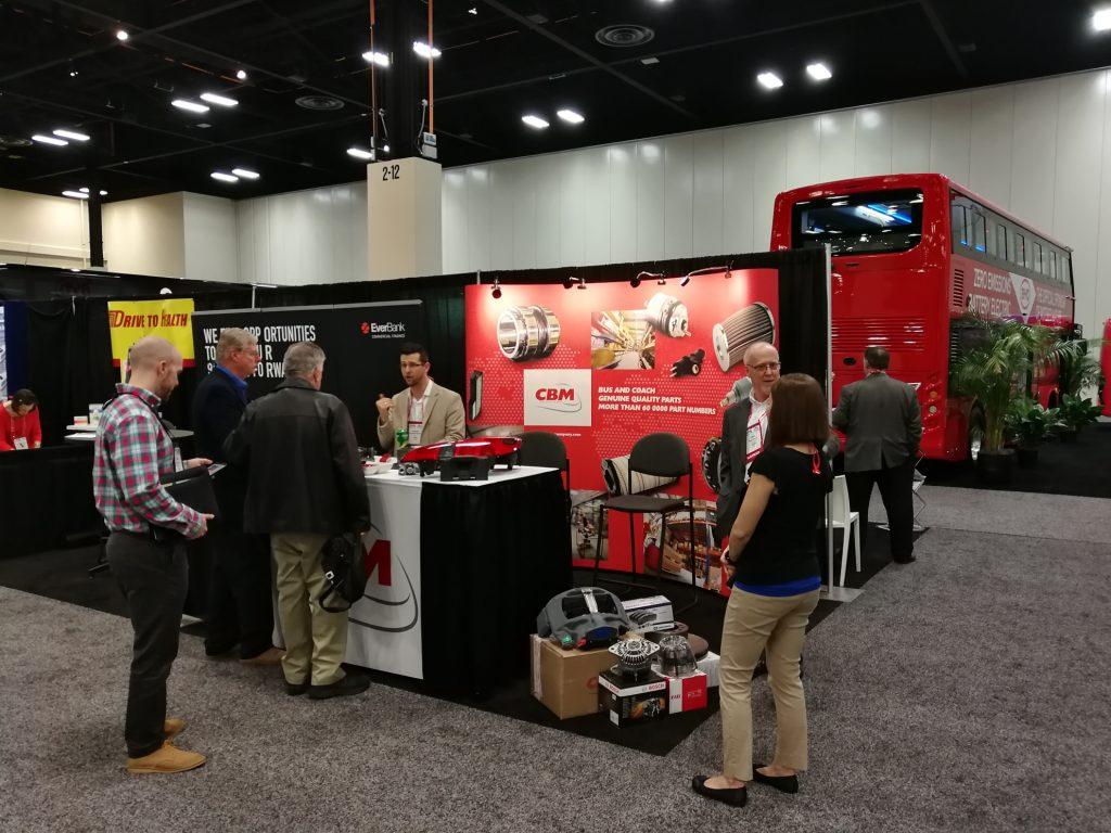 CBM à UMA Motorcoach Expo 2018