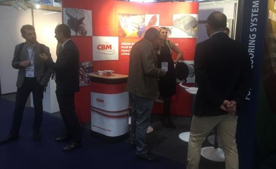 CBM vystavuje na veletrhu AUTOCAR EXPO 2018