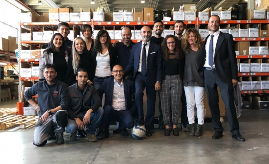 CBM in Italy: VAR celebrates 8 years with the Group