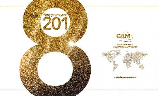 CBM vous souhaite le meilleur pour 2018!