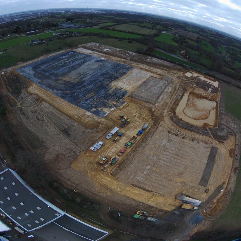 CBM Bauprojekt: Ein 50.694 m² großes Grundstück für die Aktivität von CBM