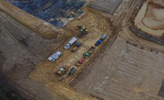 Șantier de construcții CBM: începerea lucrărilor