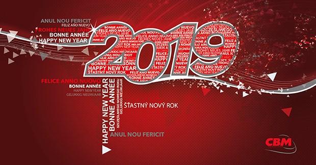 CBM le desea lo mejor para el año 2019