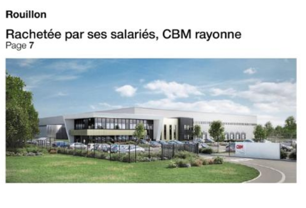 Ouest France features an article on CBM
