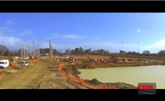 CBM BAUPROJEKT: Die Bauarbeiten gehen weiter