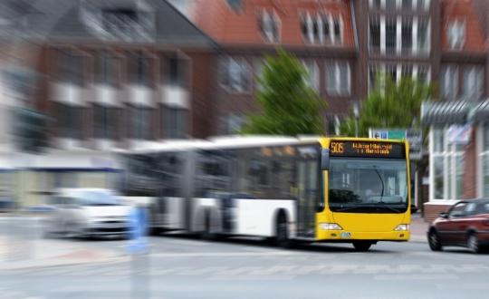 Immer mehr Busse fahren mit Erdgas
